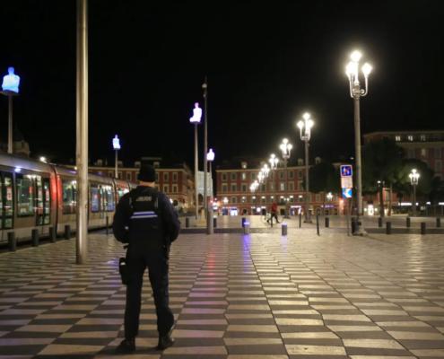 Couvre-feu à Nice